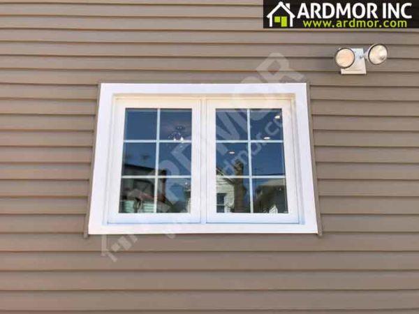 Vinyl Twin Casement Window Replacement