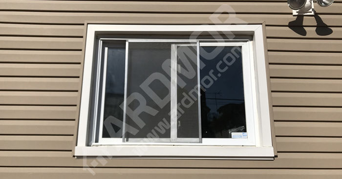 Vinyl Twin Casement Window Before