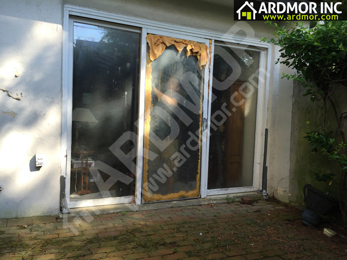 Andersen-Gliding-Door-Replacement-Lower-Merion-Township,-PA---Before
