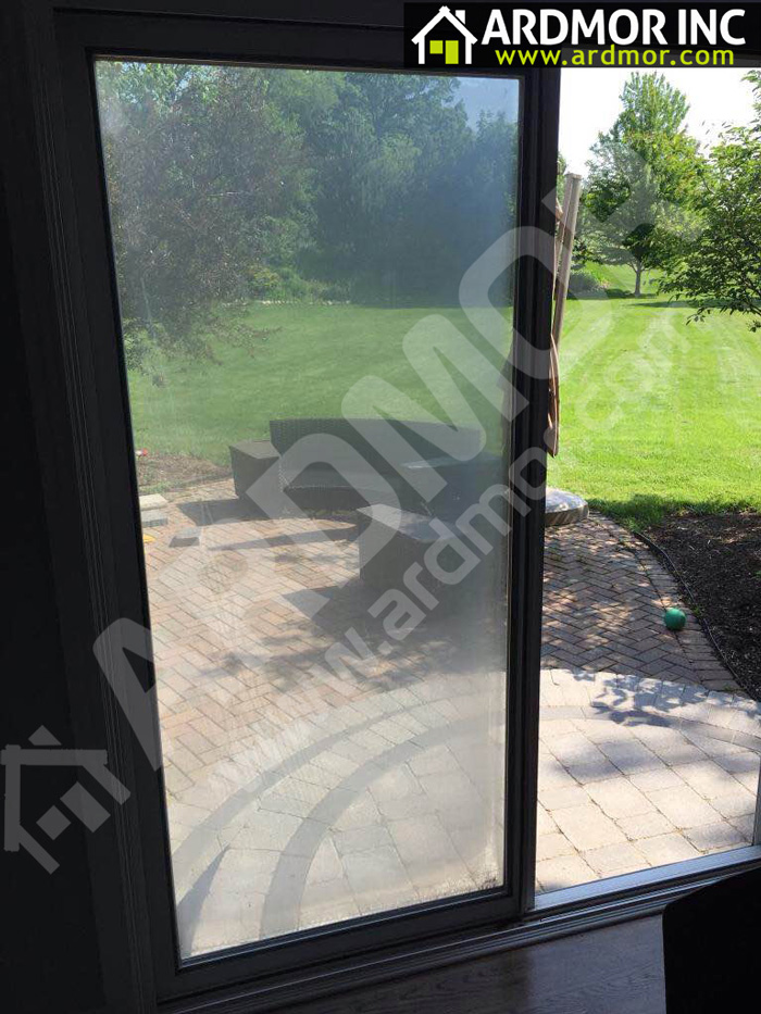 Foggy-Patio-Door-Glass-Replacement-in-Gladwyne,-PA-before