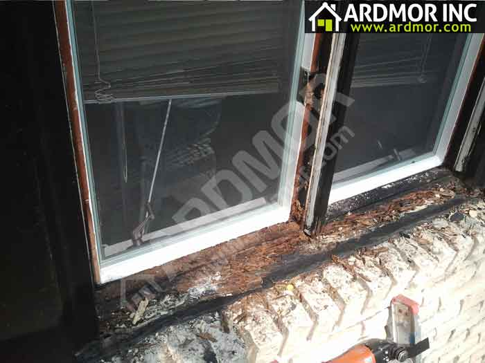 Double_Casement_Window_Sill_Repair_Philadelphia_PA