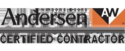 andersen certified contractor logo
