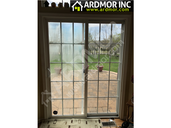 Patio_Door_Foggy_Glass_Replacement_East_Windsor_NJ_before